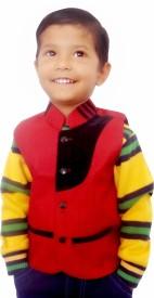 AD & AV Solid Boy's Waistcoat