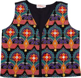Fbbic Embroidered Boy's Waistcoat