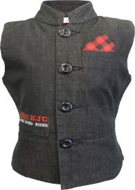 Kooka Kids Embroidered Boy's Waistcoat