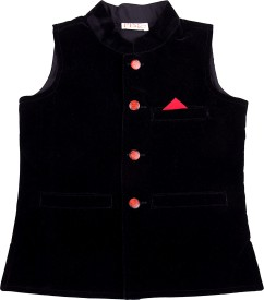 Fbbic Solid Boy's Waistcoat
