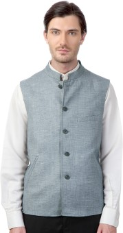 Peter England Formal Single Breasted Blazer Printed Men's Waistcoat