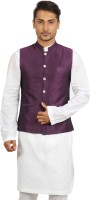 Mayank Modi Single Breasted Solid Men's Waistcoat - WSCDWTG2HPMKZZFG
