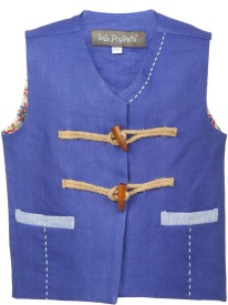 Lil Poppets Solid Boy's Waistcoat