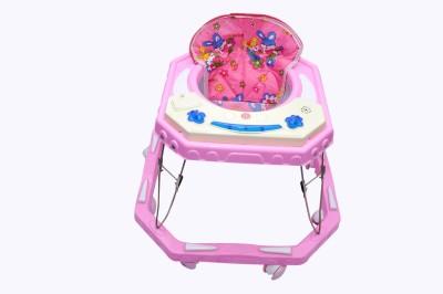 Shahi parvarish Pink Candy Baby mucical walker(Pink) (Pink)
