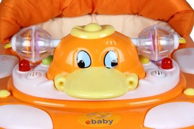Toyhouse Duck Baby Walker (Orange)