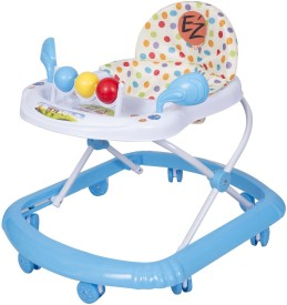 EZ' PLAYMATES BABY WALKER BLUE
