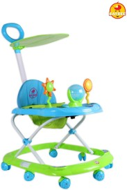 BAYBEE SunnyDay Walker with Canopy and Parent Control (Green)
