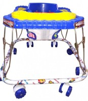 Kusum Enterprises Square Musical Baby Walker (Blue) (Blue)