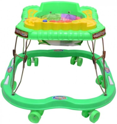 kusum Enterprises Green Musical Stylish Walker (Green)