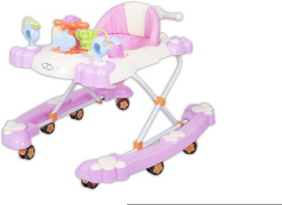 HLX-NMC 2 In 1 Baby Walker Cum Rocker Pink (Pink)