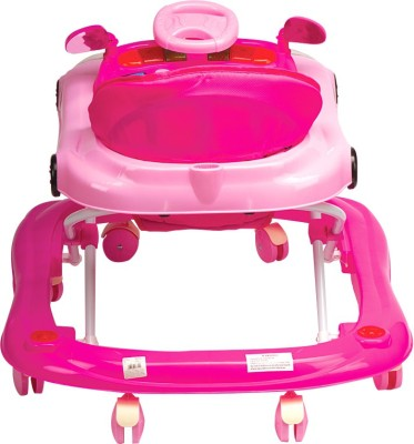 Mee Mee Walker Parents Push Handle (Pink)