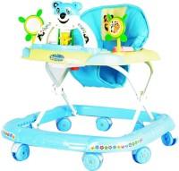 Panda Attractive Adjustable Baby Walker With Handle (Blue)
