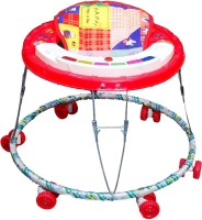 Brats N Angels Musical Baby Walker (Red)