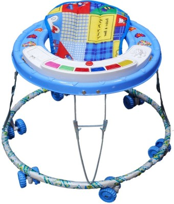 Brats N Angels Musical Baby Walker 1 (Blue)