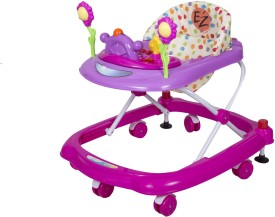 EZ' PLAYMATES HAPPY BABY WALKER PINK/PURPLE