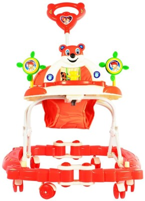 Panda Baby Walker Cum Rocker (Red)