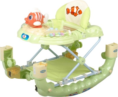Deliababy Walker Cum Rocker Fish (Green)