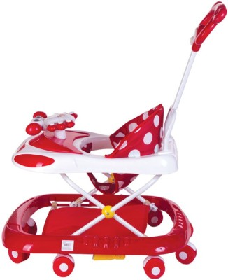 Mee Mee Walker Parents Push Handle (Red)