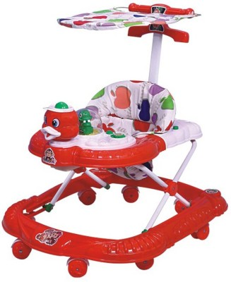 Panda Yours Shop Multi Colour Walker-Red (Red)