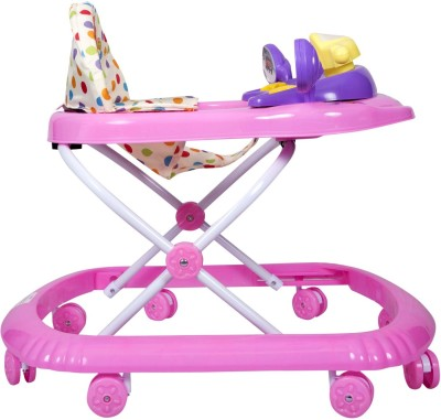 EZ' PLAYMATES FUN BABY WALKER PINK (Pink)