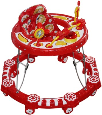 Amardeep and co. Baby walker (Red)