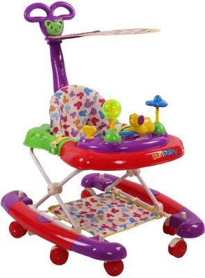 Sunbaby Jumbo Walker (Purple)