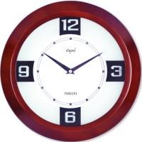Opal Opal Designer - 5949B Analog Wall Clock (Brown)