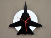 Blacksmith Halloween Smiling Ghost Analog Wall Clock (Black, Yellow)