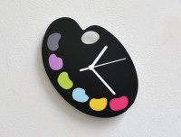 Blacksmith Aladdin And Jasmine Analog Wall Clock Multicolor