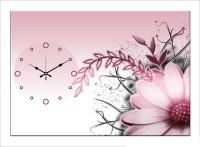 Design O Vista Single Panel - DV1-S-R4082 Analog Wall Clock (Multicolor)