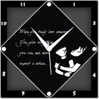 Amore Amore True Love 107623 Analog Wall Clock (Multicolor)