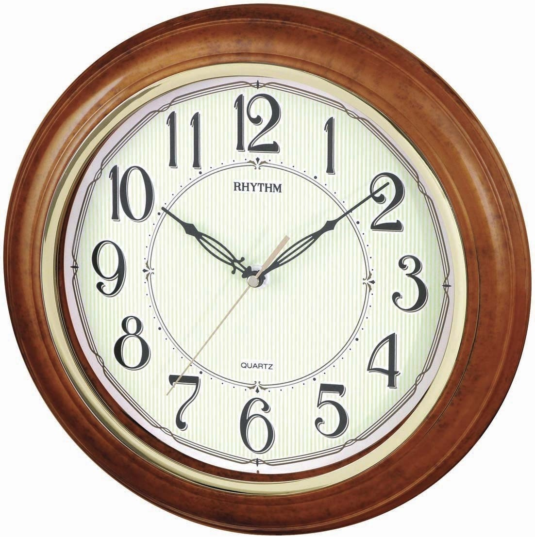 Rhythm Cmg425br06 Analog 32 Cm Dia Wall Clock Price In