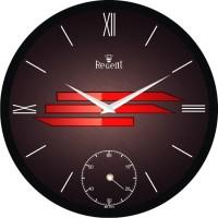 Regent Best Clock Analog 31 Cm Dia Wall Clock Black