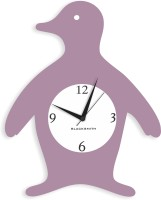 Blacksmith Rose Metalic Penguin Analog Wall Clock Rose Metallic