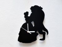 Blacksmith Beauty And The Beast ? Analog Wall Clock Black