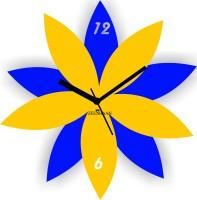 Zeeshaan Zee521-5 Analog Wall Clock Blue, Yellow