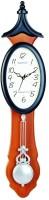 Wood Craft W-43P Analog Wall Clock (Brown, Black)