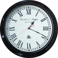 E-Studio Franklin And Murphy Analog Wall Clock (Black)