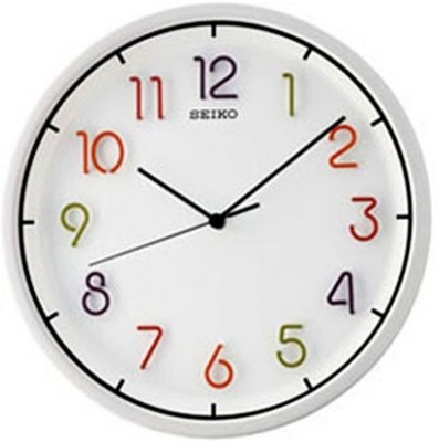Buy Seiko Wall Clock Analog Wall Clock: Wall Clock