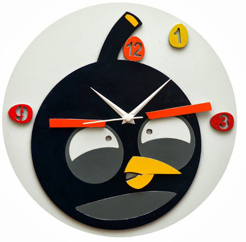 panache funky bird analog wall clock price in india buy
