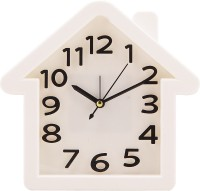 Murli Enterprises Home Analog Wall Clock (White)