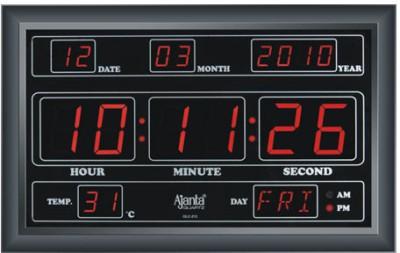 Ajanta Olc 213 Digtal Wall Clock