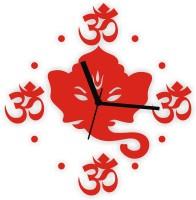 Zeeshaan Analog Wall Clock Red