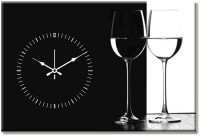 Design O Vista Single Panel - DV1-S-R4070 Analog Wall Clock (Multicolor)
