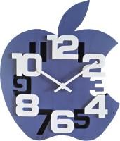 Jiji Apple Shape Analog Wall Clock Blue
