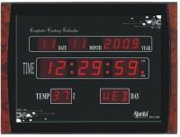 Ajanta OLC-105 Digtal Wall Clock (Brown, Black)