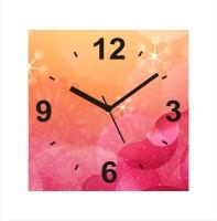 Zeeshaan Contemporary Printed Analog Wall Clock Multicolor