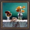 WENS Flower Painting In Special Design - Multicolor