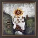 WENS Sunflower Antique Painting - Muticolor