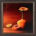 WENS Sunshine Flower Painting - Orange